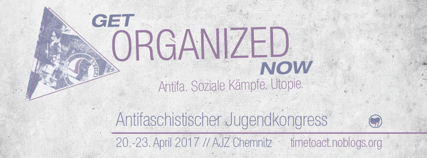 Antifaschistischer Jugendkongress 20.-23. April 2017